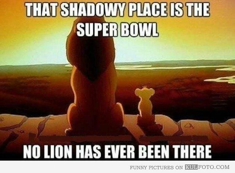 Detroit Lions Super Bowl meme Lion King