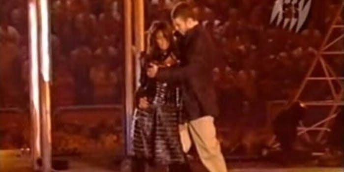 Janet Jackson Justin Timberlake nipplegate Super Bowl halftime show