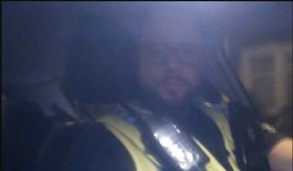 cops text friends to get drunk guy home: cop taking selfie