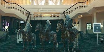 Wight Walkers in Gaylord Opryland hotel lobby
