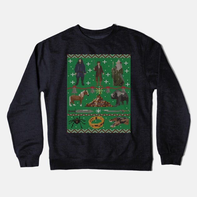 Hobbit Christmas Sweater, $30.