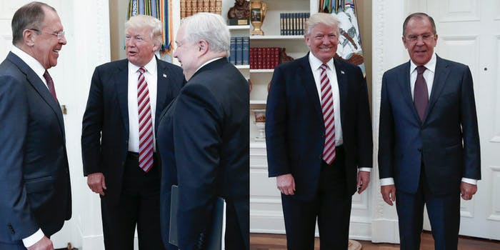 Donald Trump Russia Meeting