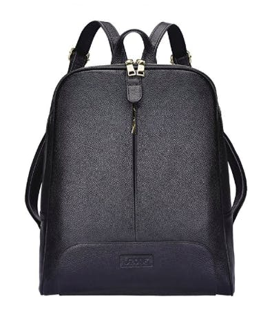 leather briefcase backpack