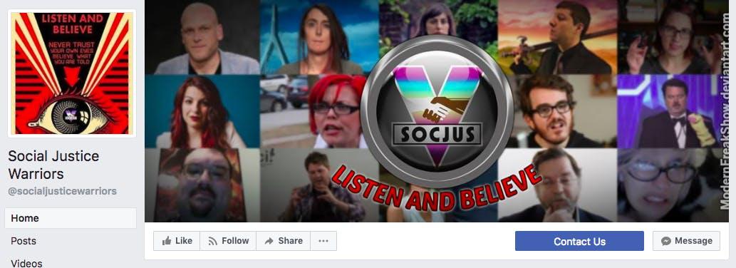 social justice warriors facebook : anti-sjw facebook group