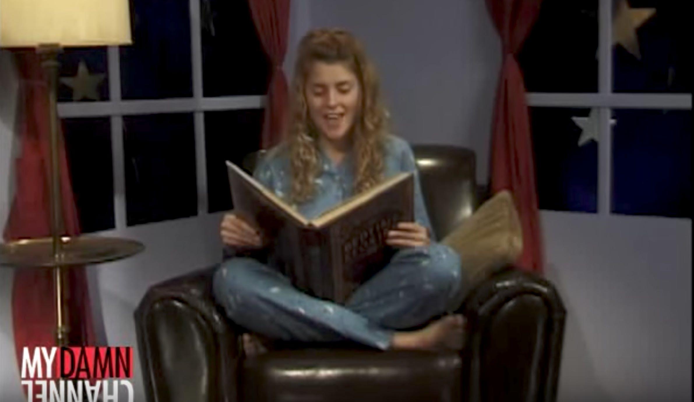 Grace Helbig bedtime stories