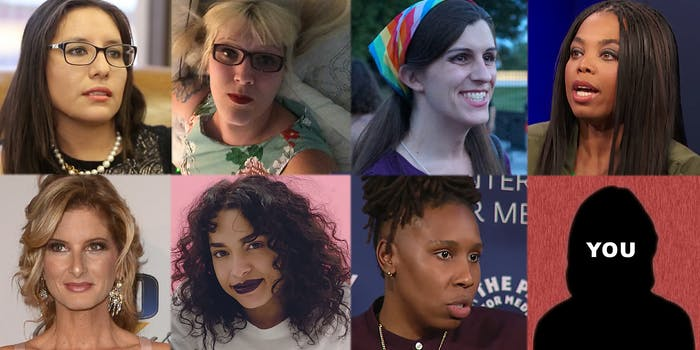 Grid collage of the women to watch out for in 2018