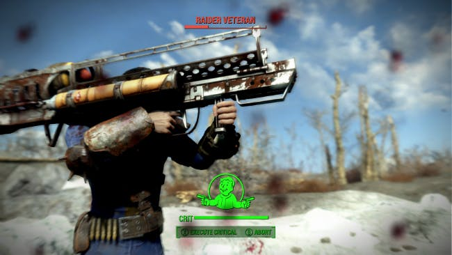 Having access to the Fat Man nuke launcher is the best and worst idea Bethesda had for the Fallout VR demo. Irresponsible use encouraged highly. (Image from Fallout 4.)