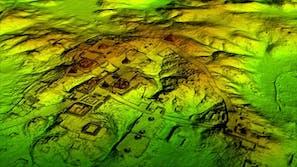 maya civilization lidar