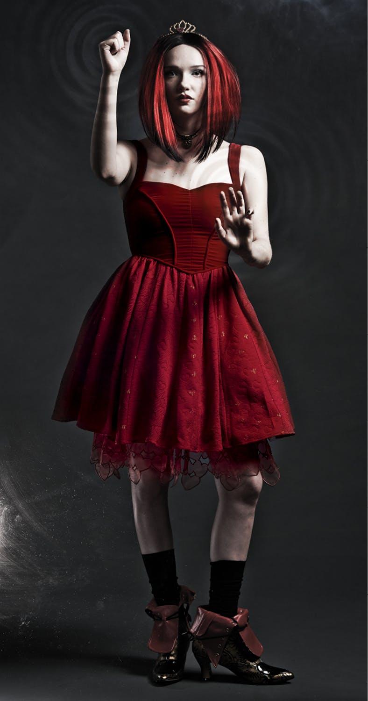Red Queen heart dress - $79.50
