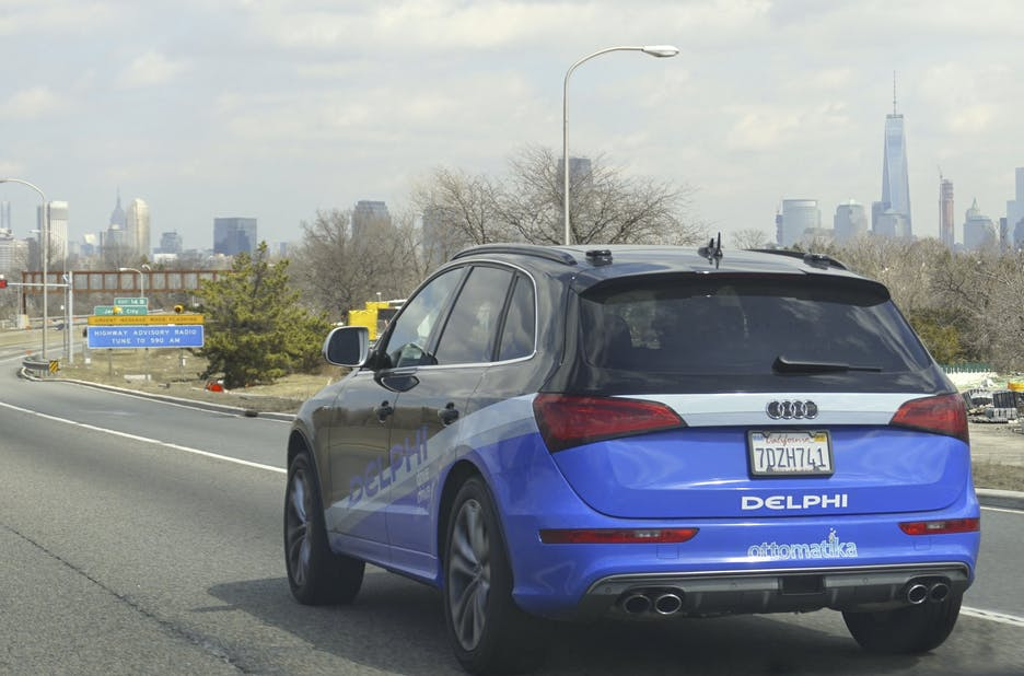 Delphi's driverless Audi