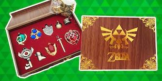 zelda necklace set