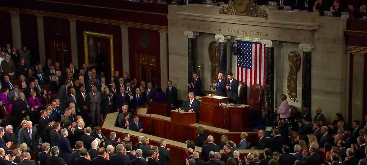 state of the union trump