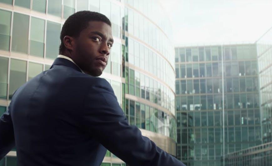 Chadwick Boseman as Black Panter
