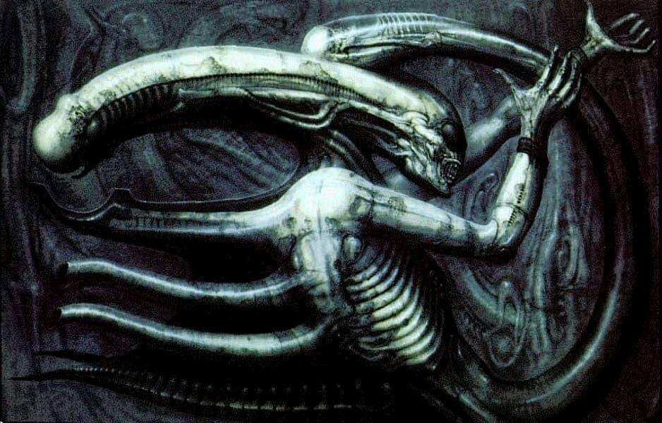 Alien Giger Necronomicon