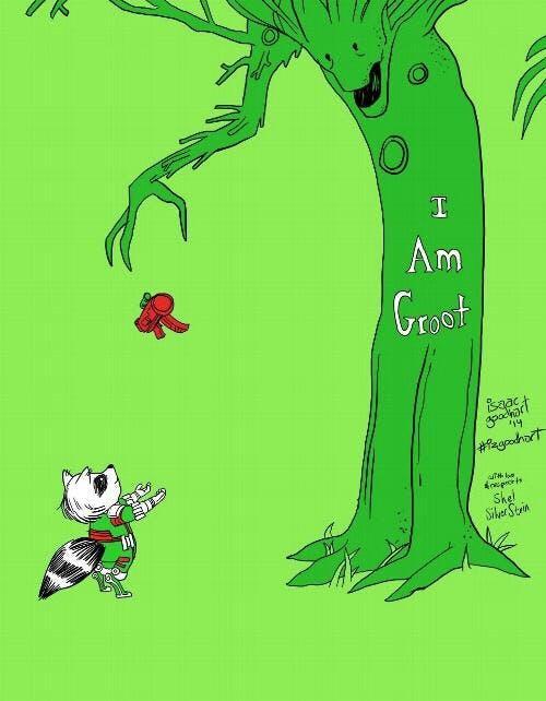 Giving tree Groot