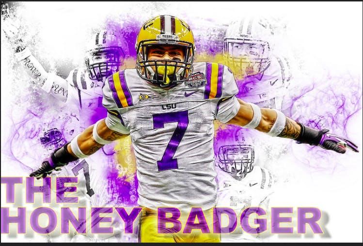 honey badger lsu