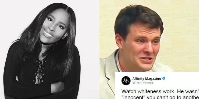 Affinity Magazine tweets about Otto Warmbier
