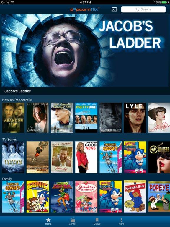 free movie apps : popcornflix