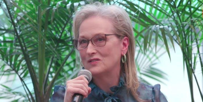 Meryl Streep Princess Leia Star Wars
