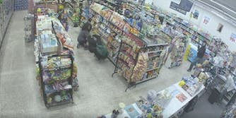 Five Points convenience store robbery Facebook Watch