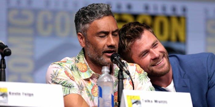 Taika Waititi Chris Hemsworth Thor