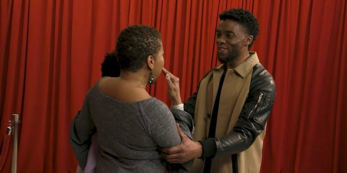 Chadwick Boseman Surprises 'Black Panther' Fans on 'Fallon'