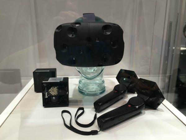 The Valve/HTC Vive virtual reality system