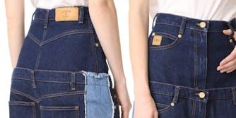 natasha zinko double double jeans jeans