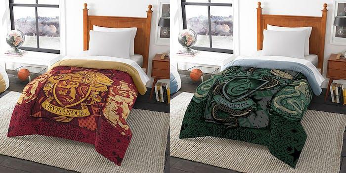 hogwarts house comforters
