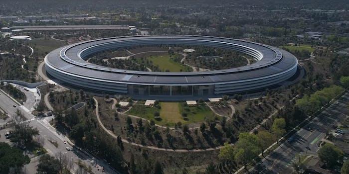 apple park spaceship campus