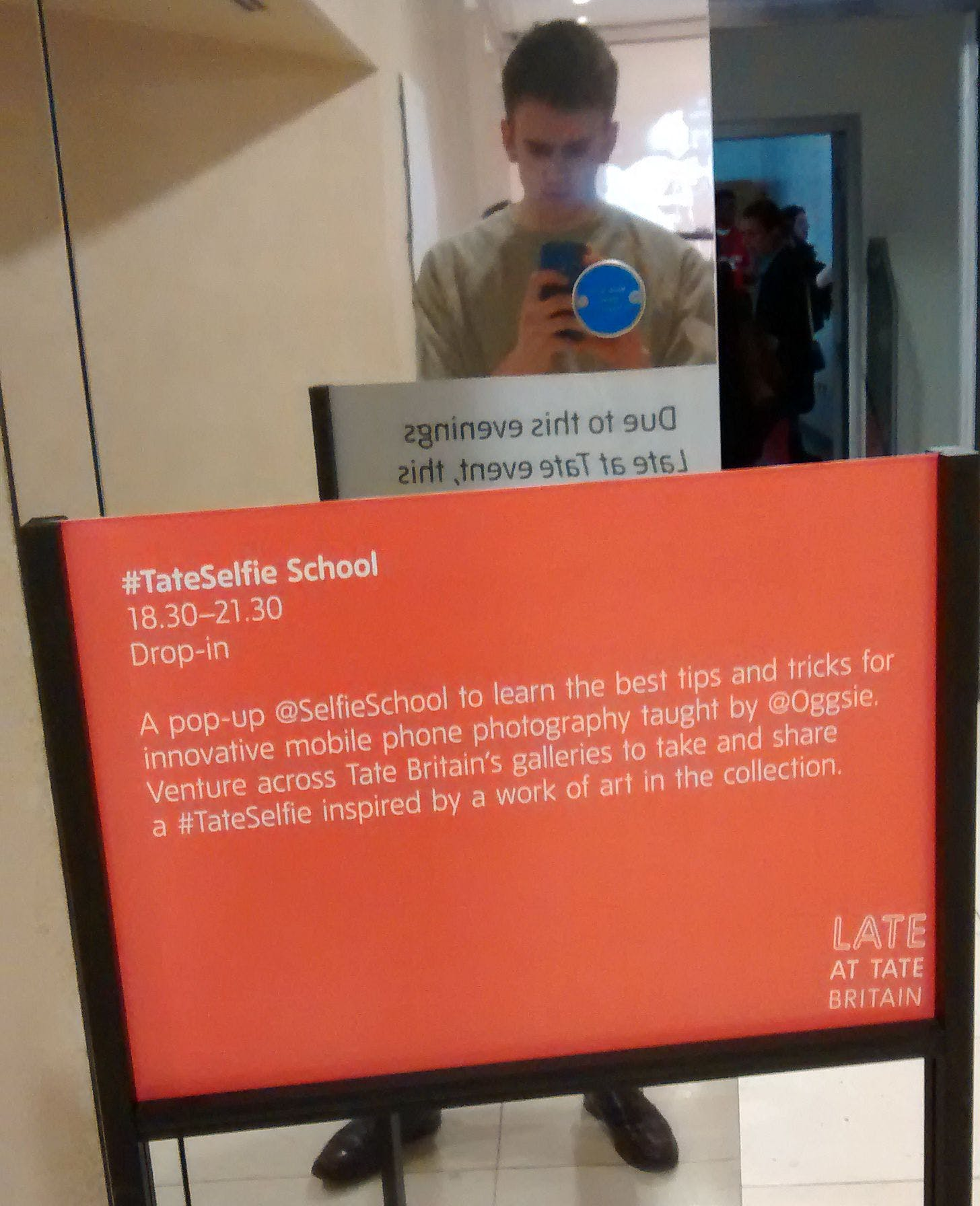 My first selfie for #TateSelfie School