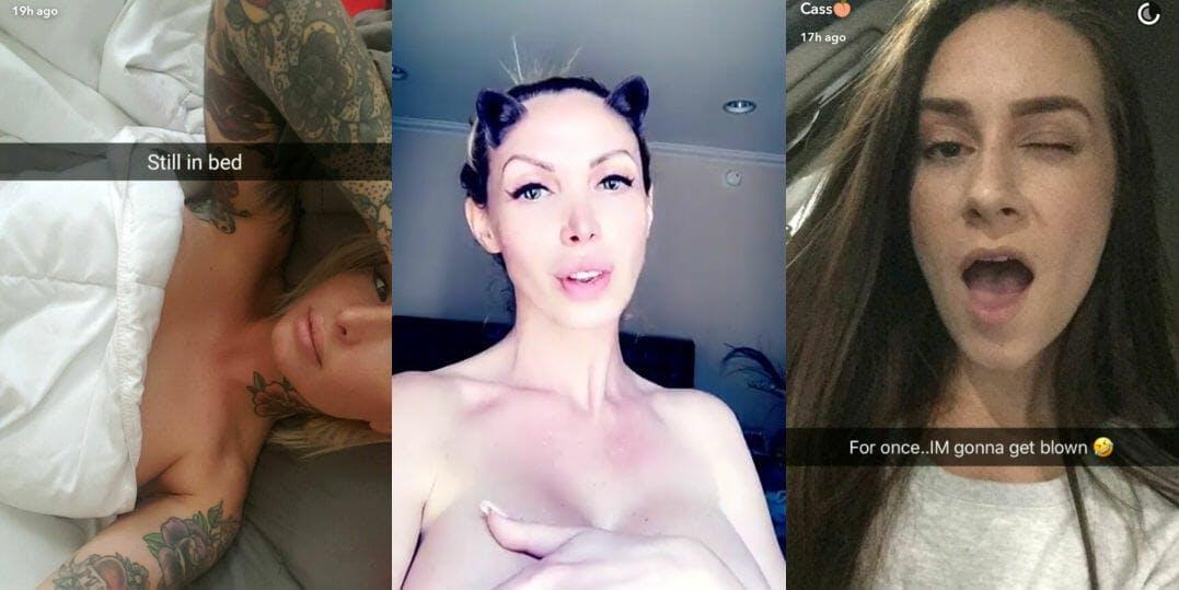 Pornstars Snapchat Videos