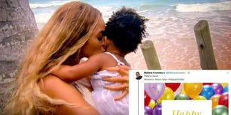 Beyonce birth Mathew Knowles
