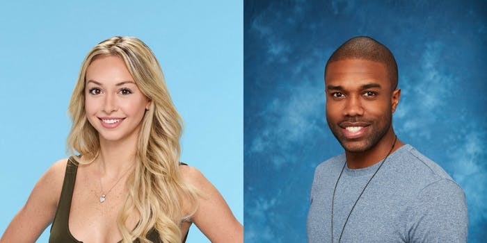 'Bachelor in Paradise' cast members Corinne Olympios and DeMario Jackson