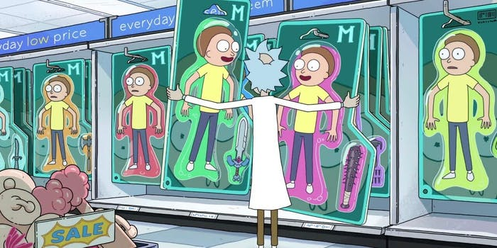 Rick and Morty Season 3 opening sequence