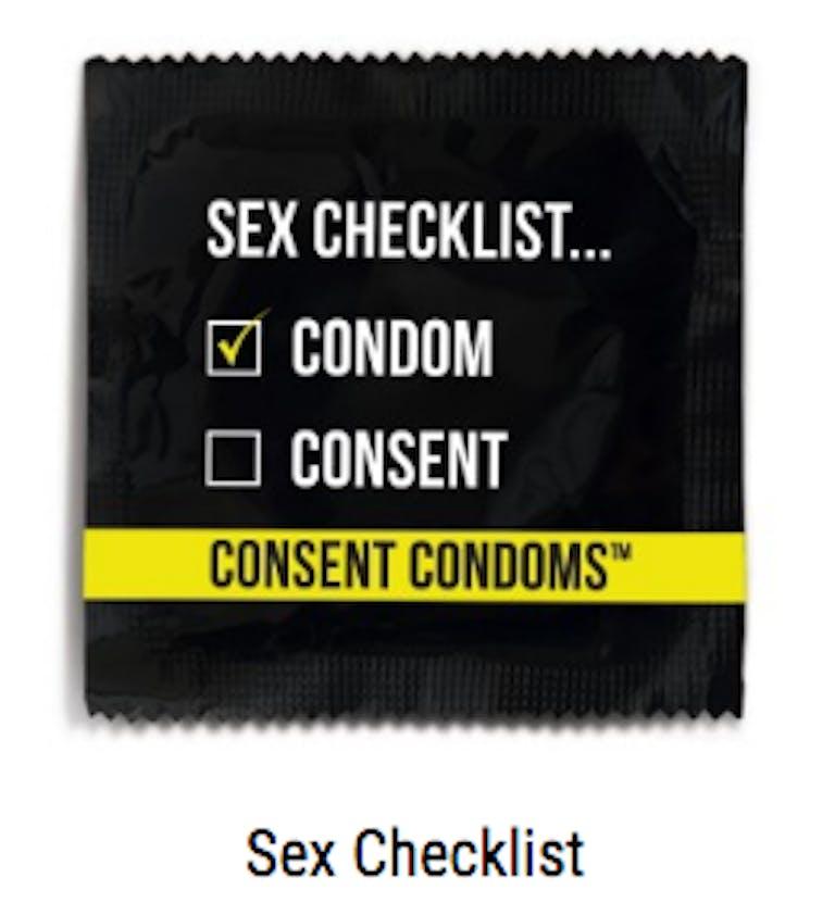 sex checklist condom