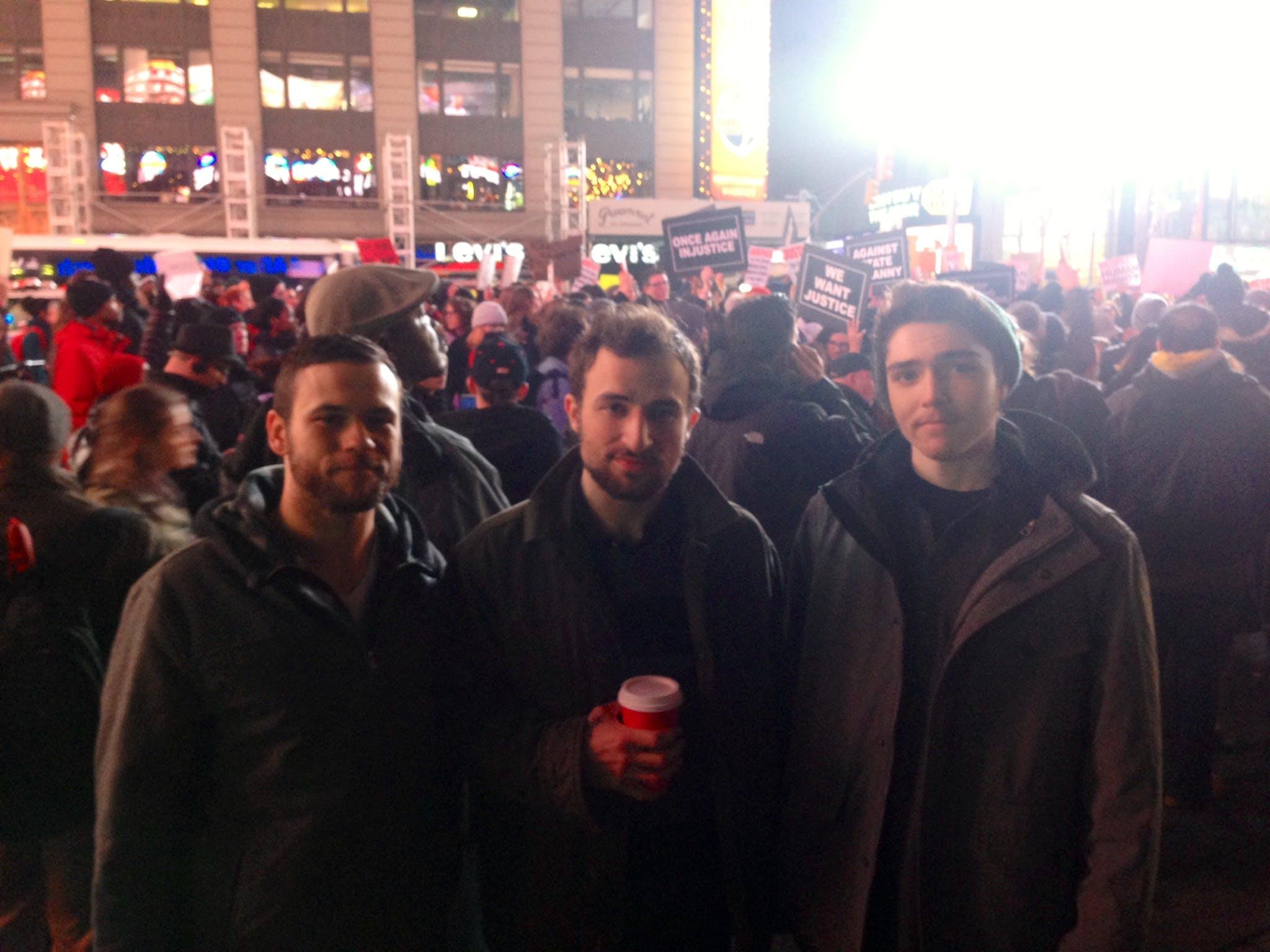 Jeff Sarkowski, Tony Malec and Selby Owens and of Scranton, Penn.