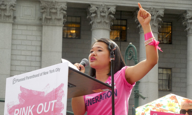 Speaker Adrienne Zhou, Planned Parenthood Generation