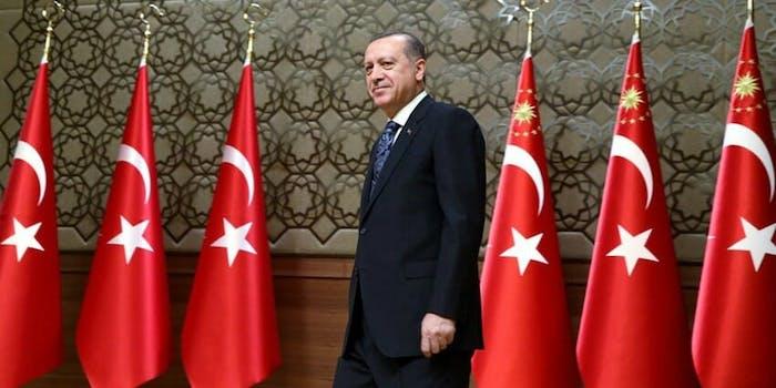 Turkey president Recep Tayyip Erdoğan