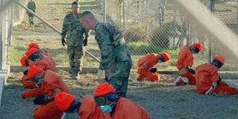 Camp X-ray, Guantanamo Bay