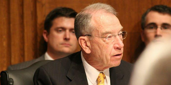 Senate Judiciary Committee Chairman Chuck Grassley (R-Iowa).