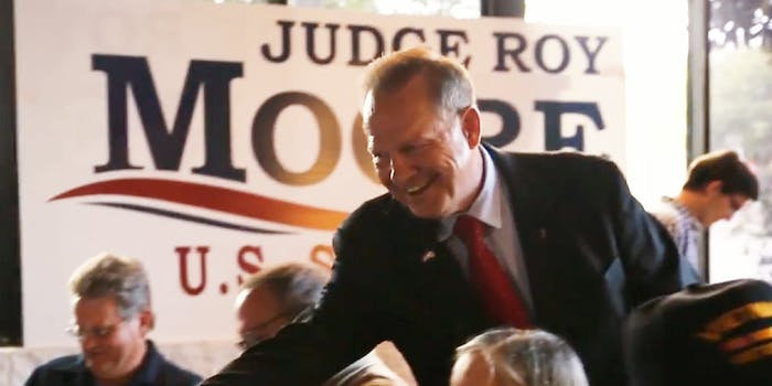 A woman has accused Roy Moore, the Republican Senate candidate in Alabama, of attempting rape her when she was 16.