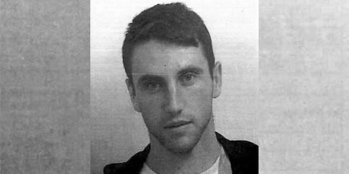 Lanarkshire Police mugshot of Guxim Imerio