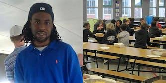 Philando Castile with school cafeteria