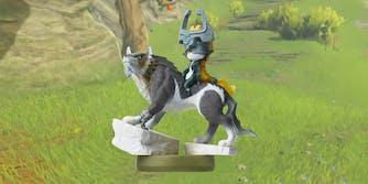 Wolf Link Amiibo character