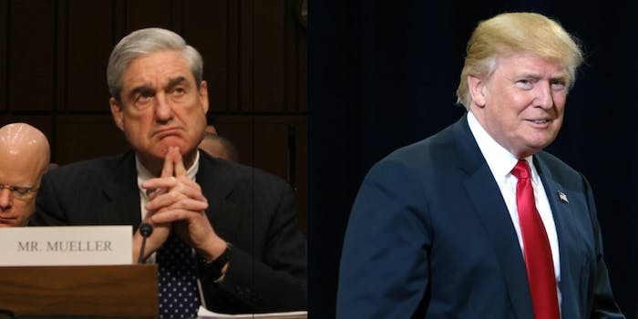 Robert Mueller has obtained a letter by Trump about firing James Comey