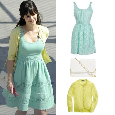 Zoeey Deschanel fashion