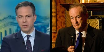 Jake Tapper hit back hard after Bill O'Reilly taunted him over ratings on Twitter.