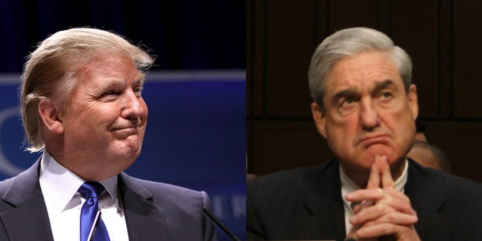 Robert Mueller's investigation into Donald Trump and Russia is growing.