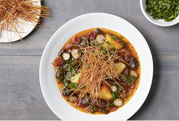 Catalan vegetable stew